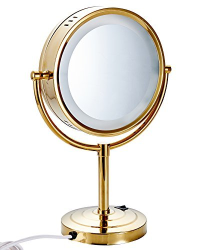 Cavoli 8 5 Inch Led Makeup Mirror With 7x Magnification