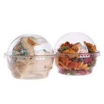 GOLDEN APPLE, 5oz-25sets Clear Plastic Cups for Ice Cream, Dessert Cups,... - £9.24 GBP