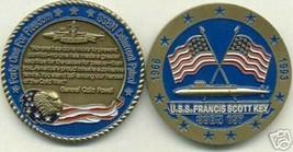 NAVY USS FRANCIS SCOTT KEY SSBN-657 SUBMARINE DETERRENT PATROL CHALLENGE... - $27.07