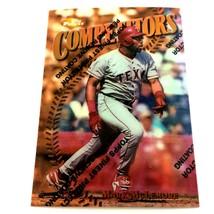 1997 Topps Finest Refractor Mark McLemore Parallel Card #243 Texas Rangers - $2.92