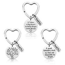 Teacher Appreciation Gift - 3PCS Teacher Keychain Set for Women Thank Yo... - $9.95