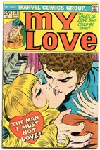 My Love #38 1976- Marvel Bronze Age Romance- Romita cover FN - $56.75