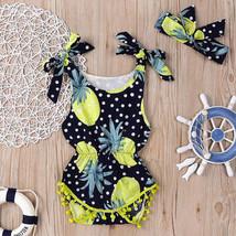 Infant Kids Baby Girl Bodysuit Floral Tassel Romper Jumpsuit+Headban - $15.70