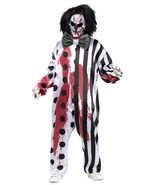 Bleeding Killer Clown Adult Costume actually bleeds in contained mask he... - $29.69