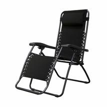 Caravan Sports Infinity Zero Gravity Chair, Black - $67.99