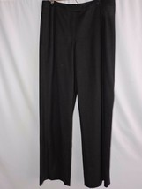 Escada Gray Wool Blend Dress Pants Wide Leg Flat Front Career Work 40 US... - $74.99