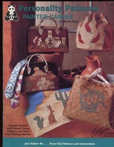 Personality Patterns Painted Canvas Purse Bag Tote Clothes Pattern Booklet - $4.47