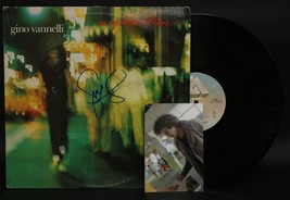 """Gino Vannelli Signed Autographed """"Nightwalker"""" Record Album - $29.99"""