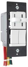 Legrand - Pass & Seymour LSDC163PWV Dual Control Slide Preset Single Pol... - $52.34