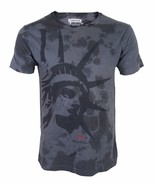 BRAND NEW LEVI'S MEN'S CLASSIC COTTON STATUE OF LIBERTY T-SHIRT GRAY 117508 - $21.80