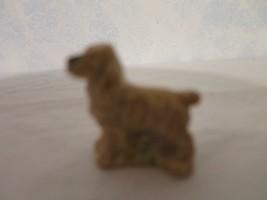 """VINTAGE TINY MINI PORCELAIN GOLDEN  RETREIVER DOG FIGURINE 1.25"""" WADE EN... - $4.94"""