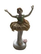 Vintage Lace Ballerina Figurine Blonde - $29.65