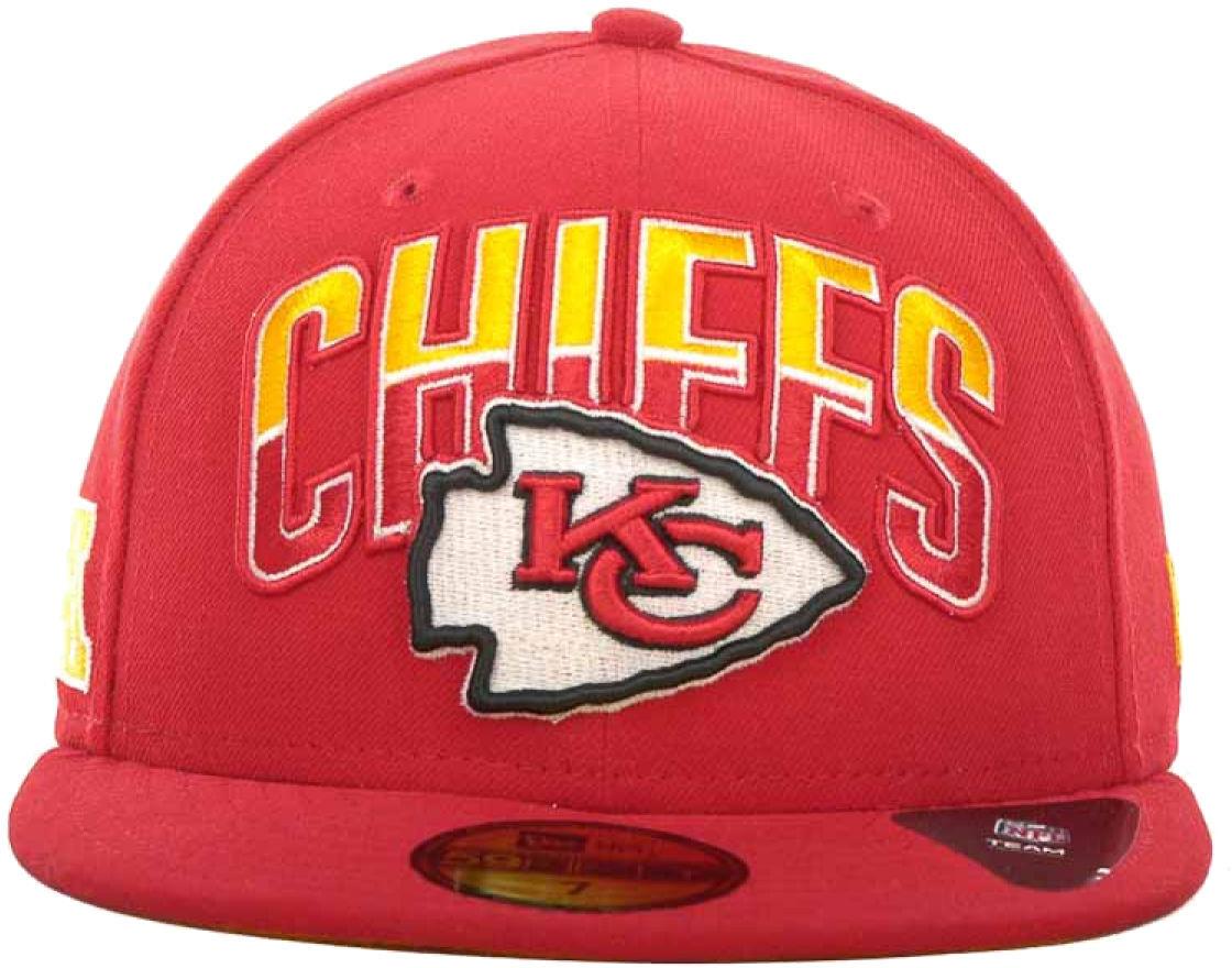S l1600. S l1600. Previous. New Era Kansas City Chiefs Draft 2013 Flip  Under Visor 59Fifty Fitted Cap Hat 75c9da323