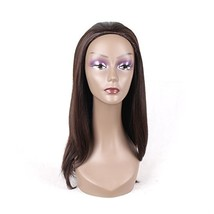 HAIR WAY Half Wigs for Black Women with Drawstring and Combs Medium Leng... - $34.41