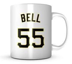 An item in the Everything Else category: Josh Bell Mug - P:ittsburgh Baseball 11 oz Coffee Cup