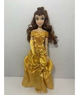 """Disney Store Classic Princess Belle Beauty and the Beast 11"""" doll yellow... - $12.86"""
