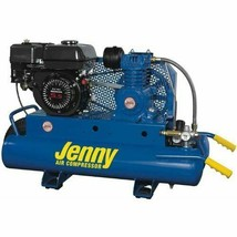 Jenny K5HGA-8P 5Hp 8 Gallon 1 Stage Wheeled Portable Gas Powered Air Compressor - $1,876.05