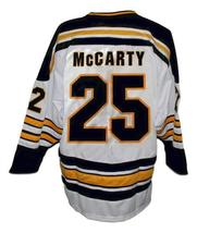 Custom Name # Flint Generals Hockey Jersey White McCarty Any Size image 2