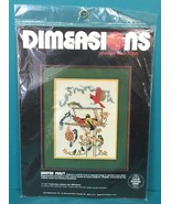 Dimensions Winter Feast Birds Counted Cross Stitch Kit Linda K Powell Vt... - $20.95