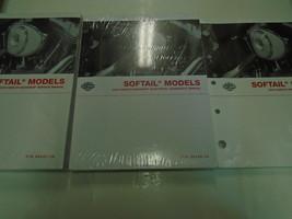 2004 Harley Davidson Softail Modelle Wartungshandbuch Set mit Elektrisch Owners - $308.00