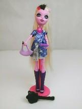 """Monster High Doll Bonita Femur Freaky Fushion  11"""" Pink white Hair - $17.34"""
