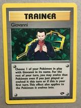 Pokemon Card - Trainer Giovanni - (104/132) Gym Challenge Rare ***NM*** - $1.99