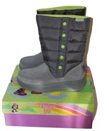 Girls Leather & Textile Boot Size 8 by Skecher ... - $36.30