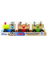 Melissa & Doug Disney Baby Mickey Mouse and Friends All Aboard Wooden Tr... - $16.22