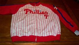 PHILADELPHIA PHILLIES MLB STITCHED JACKET XL NEW w/ TAG - $49.50