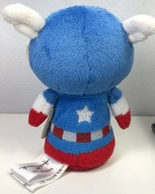 Captain America Itty Bittys Plush Toy Doll Marvel Super Hero Blue Hallma... - $9.89