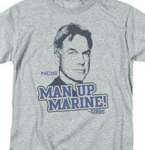 NCIS TV series Leroy Jethro Gibbs Man Up Marine graphic t-shirt CBS975 image 3