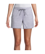 St. John's Bay Gray Active Knit Pull-On Shorts New Size M, L, XL, XXL - $12.99