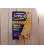 Theraflu Multi-Symptom Severe Cold Green Tea & Honey Lemon Flavors 6 Pac... - $16.42