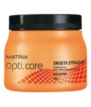 Matrix Opti Care Smooth Straight Professional Ultra Smoothing Hair Masque 490gm* - $27.34