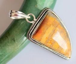 Tiger's Eye Silver Overlay Handmade Pendant Jewelry-oj-418-34_230 - $4.49