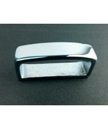 Weaver Silver Tone  Leather 410 Belt Loop  00410-CB-1 1/2 - $7.82