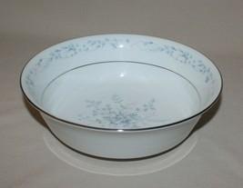 "Noritake Carolyn 9"" Round Vegetable Serving Bowl Pink & Blue Flowers 2693 - $24.70"