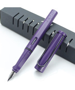 Lamy Safari Dark Purple Color Fountain Pen + Roller Ball Pen  for choose - $13.09+