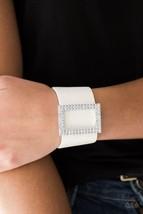 Stunning For You - White Bracelet - $5.00