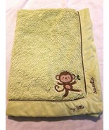 Koala Baby My Little Sweetie Blanket Monkey Green Brown Shaggy - $27.69