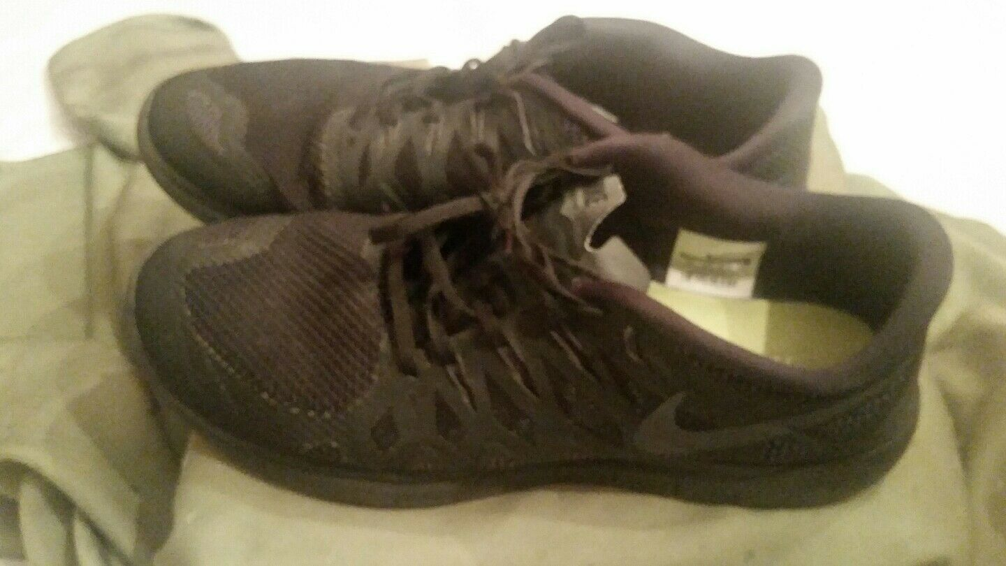 Nike Free 5.0 mens black sneakers size 14 anthracite triple 642198-020 (1)