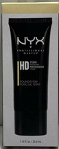 NYX HD High Definition Studio Photogenic Foundation Nude HDF101 New In B... - $13.30