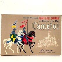 Parker Brothers Camelot Vintage 1961 Edition Battle Game of Knights and Men - £72.72 GBP
