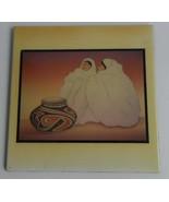 "1970's R.C Gorman Navajo ""Wild Flowers"" Extra Large Native Indian Woman ... - $79.99"