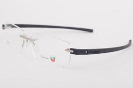 Tag Heuer 3942 013 REFLEX Titanium Gray Silver Eyeglasses TH3942-013 60mm - $236.61