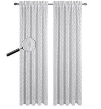 Urbanest 54-inch by 84-inch Portland Set of 2 Sheer Curtain Drapery Panels, Off  - $28.70
