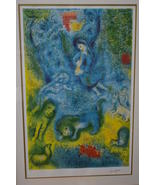 """Magic Flute by Marc Chagall Limited Edition Lithograph -  25""""L x 39""""W x ... - $4,999.00"""