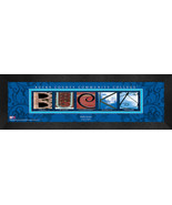 Personalized Bucks County Community College Campus Letter Art Framed Print - $39.95