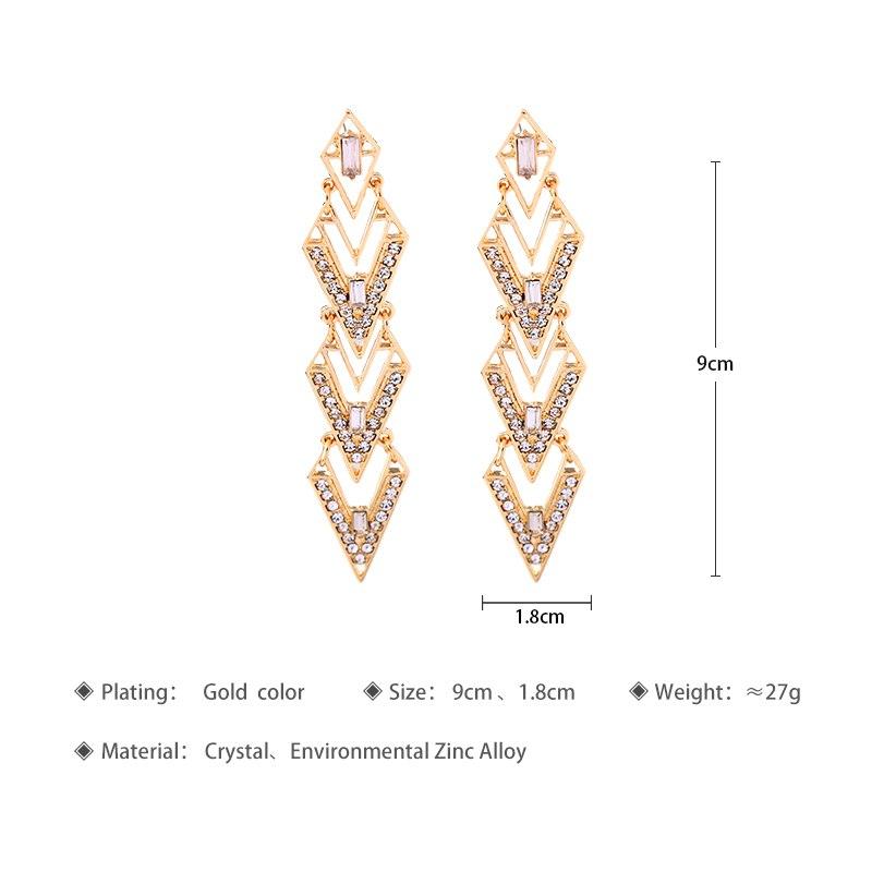 Earrings Fashion Dress Match Women Party Earrings Statement Jewelry