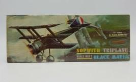 "1963 Aurora 1/4"" Scale WWI Sopwith Triplane Black Maria Airplane Model K... - $69.18"